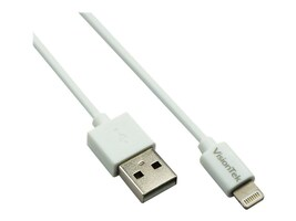 VisionTek Lightning to USB Type A M M Cable, White, 2m, 900863, 31471850, Cables