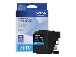 Brother Cyan LC103C Innobella High Yield (XL Series) Ink Cartridge for the MFC-J4510DW, LC103CS, 14714864, Ink Cartridges & Ink Refill Kits - OEM