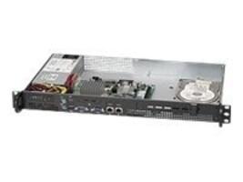 Supermicro 1U Mini Chassis for Atom, 200W PSU, CSE-503L-200B, 11636645, Cases - Systems/Servers