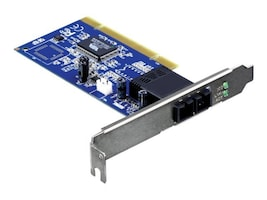 TRENDnet 100Base Multimode SC Fiber to PCI Adapter, TE100-PCIFC, 10196019, Network Adapters & NICs
