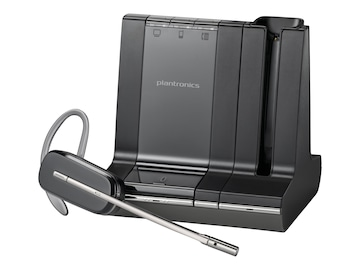Plantronics Savi W740 Convertible Wireless Headset System, 83542-01, 13014575, Headsets (w/ microphone)