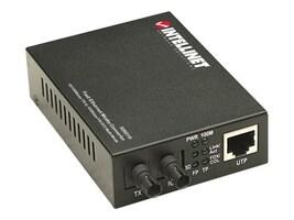 Intellinet Ethernet Media Coverter ST, 506519, 16827061, Network Transceivers