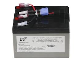 BTI Battery, Sealed Lead Acid, 12 Volts, for SUA750, SUA750US, SUA750I, RBC48-SLA48-BTI, 9915451, Batteries - Other