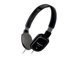 Panasonic Light-Weight On Ear Monitor Headphones, Black, RP-HX40-K, 12551782, Headphones