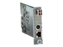 Omnitron iConvert GX TM2 10 100 1000T to 1000LX LC MM 850NM 220M Module Management, 8926N-0, 10061430, Network Transceivers