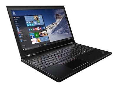 Lenovo TopSeller ThinkPad P51 Core i7-7700HQ 2.8GHz 16GB 1TB PCIe ac BT FR 6C M1200M 15.6 FHD W10P64, 20HH000AUS, 33984325, Workstations - Mobile