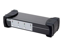 Syba USB 3.0 4-port KVM Switch, 2-port USB 3.0 Hub, HDMI, HML, Audio Connections, SY-KVM31036, 16764726, KVM Switches