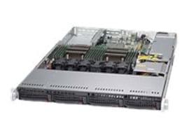 Supermicro Barebones, SuperServer 6018R-TDW 1U RM (2x)E5-2600 v3 Family Max.1TB DDR4 4x3.5 HS SATA Bays 2xGbE, SYS-6018R-TDW, 17821711, Barebones Systems