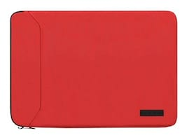 Incipio Asher Premium Nylon Sleeve, Red, IM-353-RED, 33758539, Carrying Cases - Notebook