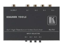 Kramer Electronics 4X1V Main Image from Front