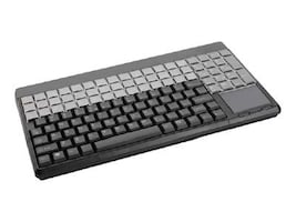 Cherry SPOS 123-Key Black 14 Keyboard Touchpad Prog 60-Rel Cherry Tools Software, G86-61401EUADAA, 6241219, Keyboards & Keypads