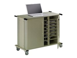 Mayline 24 Mobile Notebook Cart, LC101, 8383413, Computer Carts