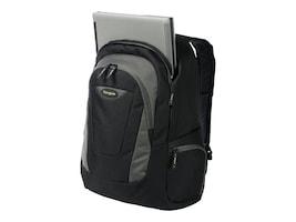 Targus Trek Backpack, 16, Black Gray Yellow, TSB193US, 15630638, Carrying Cases - Notebook