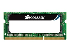 Corsair 8GB PC3-8500 204-pin DDR3 SDRAM SODIMM Kit for Select Models, CMSA8GX3M2A1066C7, 12882872, Memory