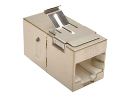 Tripp Lite Cat6a Straight-Through Modular Shielded In-Line Snap-In Coupler, N235-001-SH-6A, 30645408, Cable Accessories