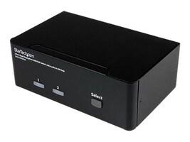 StarTech.com 2-Port USB Dual DisplayPort KVM Switch with Audio and USB 2.0 Hub, SV231DPDDUA, 11529621, KVM Switches