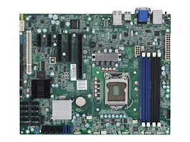 Tyan Motherboard, C204, LGA 1155, ATX, Max 32GB, PCIEX16, 2PCIEX8, 2PCI, GBE, Video, SATA3, S5512GM4NR, 13196743, Motherboards