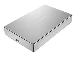 Lacie 4TB Porsche Design USB 3.1 Mobile Hard Drive, STFD4000402, 31814736, Hard Drives - External