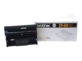 Brother Black DR-600 Drum Unit for Brother HL-6050 Series Printers, DR-600, 4897732, Printer Accessories