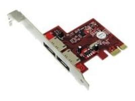 Addonics 2-Channel eSATA 6Gb s PCIe Controller, ADSA6GPX1-2E, 11089151, Controller Cards & I/O Boards