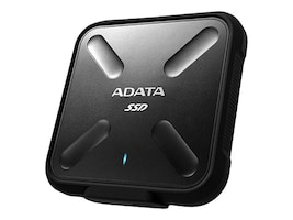 A-Data 512GB SD700 External Solid State Drive - Black, ASD700-512GU3-CBK, 33640194, Solid State Drives - External