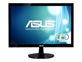 Asus 19 VS197T-P LED-LCD Monitor, Black, VS197T-P, 15258573, Monitors