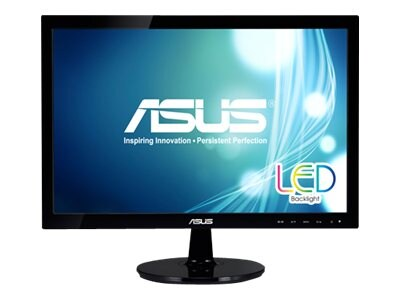 Asus 19 VS197T-P LED-LCD Monitor, Black, VS197T-P, 15258573, Monitors