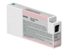 Epson Vivid Light Magenta UltraChrome HDR Ink Cartridge - 700ml for Stylus Pro 7890, 7900, 9890 & 9900, T636600, 12424791, Ink Cartridges & Ink Refill Kits
