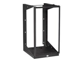 Black Box 19U Wallmount Rack, 12-24 Tapped Rail Holes, 100lb Capacity, RM051A-R3, 35120889, Racks & Cabinets