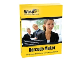 Wasp BarcodeMaker Barcode Generator Software, Single PC User License, 633808105167, 8715449, Software - POS & Bar Coding