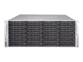 Supermicro Chassis, SuperChassis 847E2C-R1K28JBOD 4U RM 24x3.5 HS SAS SATA Bays 2x1280W, CSE-847E2C-R1K28JBOD, 18106129, Cases - Systems/Servers