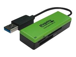 Plugable Technologies USB3-FLASH3 Main Image from Left-angle