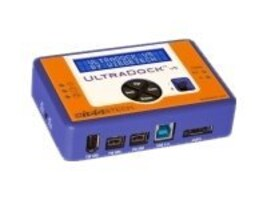 wiebeTECH Ultradock V5  IDE SATA to FireWire 400 800, USB, or eSATA, 31250-3209-0000, 13470714, Hard Drive Enclosures - Single