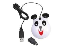 Califone Animal-Themed USB Mouse, Panda, KM-PA, 35719322, Mice & Cursor Control Devices