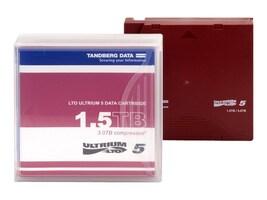 Tandberg Data 1.5TB 3TB LTO-5 Ultrium Tape Cartridge, 433955, 11404377, Tape Drive Cartridges & Accessories