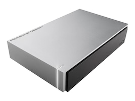 Lacie 8TB Porsche Design USB 3.0 External Hard Drive, LAC9000604, 31076913, Hard Drives - External