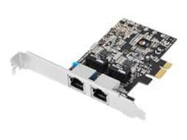 Siig DP 2-Port Gigabit Ethernet PCIe, CN-GP2011-S1, 14783270, Network Adapters & NICs