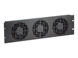 Chief Manufacturing 3U High Flow Triple Fan Panels, NAF33HBA, 35838823, Rack Cooling Systems