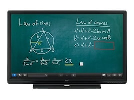 Sharp 60 PN-C605B Full HD LED-LCD Touchscreen Display, PN-C605B, 34274149, Monitors - Large Format - Touchscreen/POS