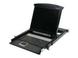 IOGEAR 17 LCD Combo Console w  Keyboard, Touchpad, TAA, GCL1800TAA, 16551069, KVM Displays & Accessories
