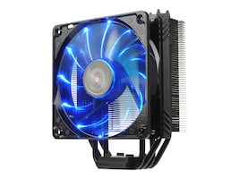 Enermax Side Flow Air CPU Cooler Fan LGA 1151 200W TDP 12cm, Blue, ETS-T40F-BK, 30660827, Cooling Systems/Fans