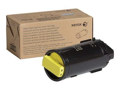 Xerox Yellow High Capacity Toner Cartridge for VersaLink C500 & C505 Series, 106R03865, 34355096, Toner and Imaging Components - OEM