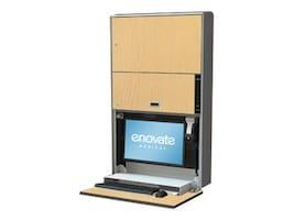 Enovate e850 with eSensor, Hard Rock Maple, E850SC-E-000-HR-0, 15732183, Computer Carts - Medical