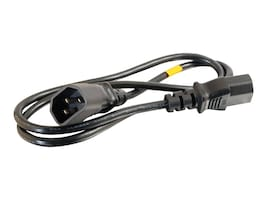 C2G Computer Power Cord Extension 1ft, 03140, 6132485, Power Cords