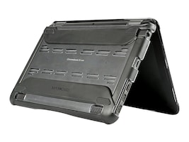 Max Cases Extreme Shell for Dell 11 ChromeBook 3180, Co-molded Design, DL-ES-3180-11-BLK, 34152740, Carrying Cases - Notebook