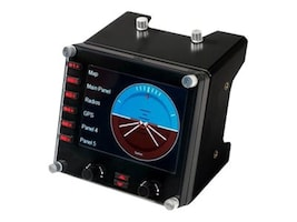 Logitech PC PRO FLIGHT INSTRUMENT PANEL, 945-000027, 37413722, Mice & Cursor Control Devices