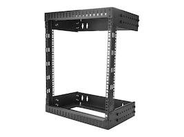 StarTech.com 12U Adjustable Wall-Mount Server Rack, 12 to 20 Depth, RK12WALLOA, 34643531, Racks & Cabinets