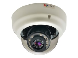 Acti 3MP Indoor Zoom Dome with D N, Adaptive IR, Superior WDR, 3x Zoom Lens, B67, 19911066, Cameras - Security