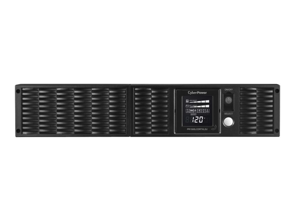CyberPower 1500VA 1500W Smart App Sinewave LCD UPS 2U RM Tower AVR, 8  Outlets
