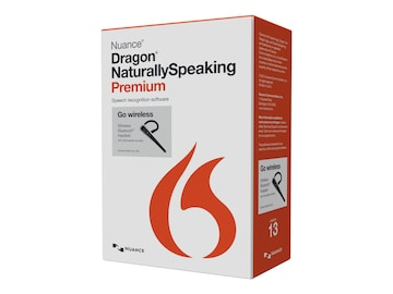 Nuance Dragon NaturallySpeaking 13.0 Premium w Bluetooth Headset, K609A-GN9-13.0, 17684365, Software - Voice Recognition